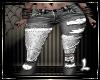 Black Jeans Patchwork L