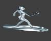 Silver Surfer Board