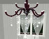 Animated chandelier