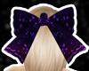 Purple club bow