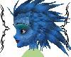 blue dragon hair