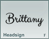 Headsign Brittany