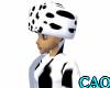 Dalmation Fur hat