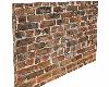 Brick horizontal wall