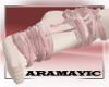 Pink Kawaii Ribbon feet