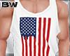 4 USA Flag Tank Shirt