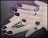 Goth Rings ~ Violet