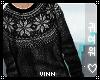 유 Knitted Sweater Blk