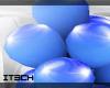 Ani*Blue&White Balloons