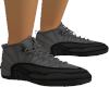 Grey Black Trainers M