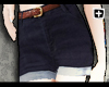 [+] High Navy Shorts |F
