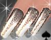Cat~ Stardust Nails