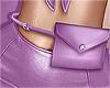 💜 Lilac Belt Bag
