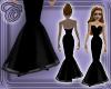 Black Fishtail Gown