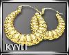 K:Gold Earrings