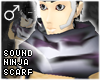!T Sound ninja scarf [M]