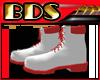 (BDS)-BootsRedOnWhite