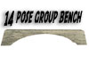 14 group pose bench