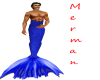 Dk Blue Merman Tail