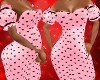Prego Pink Hearts Dress