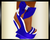 ~Blue_White Heels_Wedges
