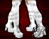 [B]argus boots white