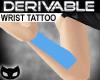 |SIN| Der. Wrist Tattoo