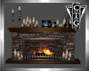 CTG FIREPLACE WITH DECOR