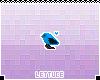 Blue Birdie Badge