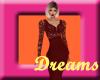 |JD| Val Red Dress