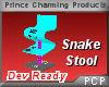 PCP~Snake Stool