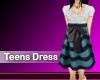 (M) Teens Dress Blue