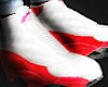 13's Red & White