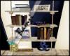 {B}Nautical BookShelf