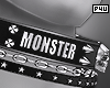 -P- Monster Collar M