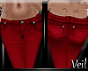 V| Red Skinnies *Rep*