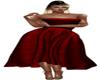 crimson long dress v2
