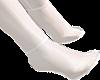 B! White Vinyl Socks Boy