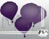 !M Purple Balloons