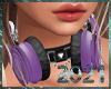 💀  Headphones Lilac