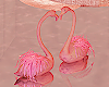 Romantic Flamingos