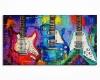 Wall Painting 3 Guitars