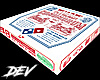 !D Dominos Pizza Box