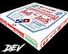 !D Dominos Pizza Box