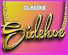 C Sidehoe Gold Chain