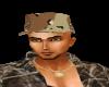 Brown Camo Hat