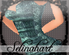*S*Sequined Mini Teal