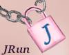 Necklace Lock J