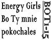 ENERGY GIRLS- BO TY