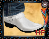Sharp Cowboy Boots White